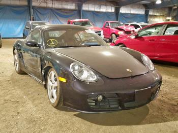 Salvage Porsche Cayman